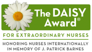 Logo for D-H Daisy Award for Nurses